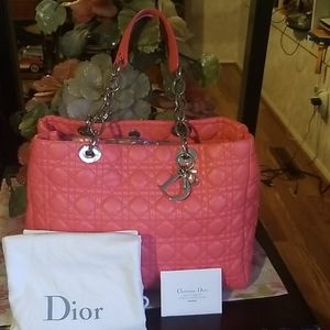 Christian Dior Quilted Cannage Bag